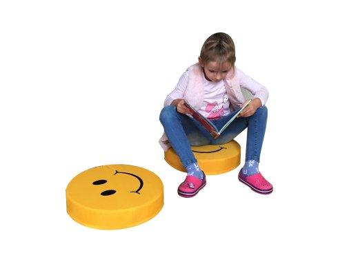 Materacyk kółko buźka z dzieckiem